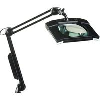 Steweld 8069Esd Işıklı Masa Büyüteçi 5 Diopter Siyah