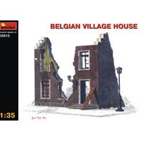 Miniart 1/35 Ölçek Plastik Maket, Belçika Köy Evi