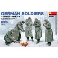 Miniart 1/35 Ölçek Plastik Maket, Alman Askerleri, Kış 1941-42