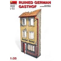 Miniart 1/35 Ölçek Plastik Maket, Yıkık Alman Oteli