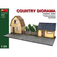 Miniart 1/35 Ölçek Plastik Maket, Taşra Dioraması
