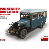 Miniart 1/35 Ölçek Plastik Maket, Yolcu Otobüsü Gaz-03-30