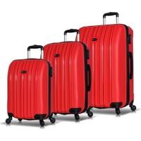 My Valice Line PP 3'Lü Valiz Seti Kırmızı