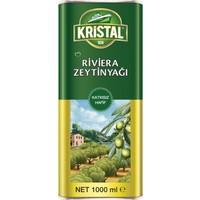 Kristal Riviera Zeytinyağı Teneke Kutu 1 Litre