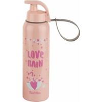 Tantitoni Pembe Plastik Love Rain Su Şişesi - 750 ml