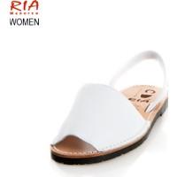 Ria Vox 14Blanco 20002-S2 Box-Calf Blanco Sandalet