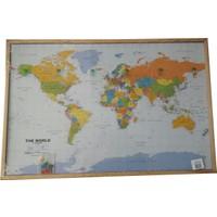 Süzen Dünya Haritası (İngilizce) - Mantar