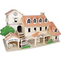 İdeal 3D Büyük Ahşap Maket Villa