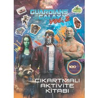 Marvel Guardians Of The GalaxyÇıkartmalı Aktivite Kitabı
