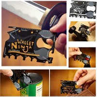 Wildlebend Ninja Wallet 18 in 1 Multi Tool Kit