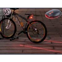 Wildlebend Lazer Güvenlik Şeritli Bisiklet Stop Lambası