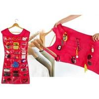 Wildlebend Elbise Şeklinde Takı Organizeri - Pembe