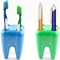 Wildlebend Diş Şeklinde Diş Fırçalık Toothbrush Holder