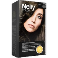 Nelly 001009812- Color Haır Dye 4/0