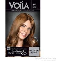Voila Nano Diamond Krem Saç Boyası Dore Bakır 8,34