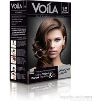 Voila Nano Diamond Krem Saç Boyası Sıcak Çikolata 6,32