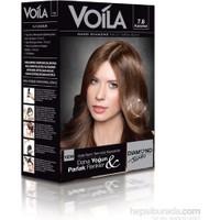 Voila Nano Diamond Krem Saç Boyası Karamel 7,8