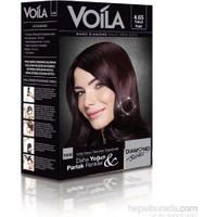 Voila Nano Diamond Krem Saç Boyası Yakut Kızılı 4,65