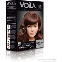 Voila Nano Diamond Krem Saç Boyası Çikolata Kahve 6,52