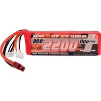 Xcell Plus 11.1V 2200Mah 3S1P 35C Li-Polymer Pil