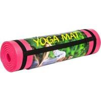 Cosfer 10 Mm-Pembe Silikon Yumuşak Yoga&Pilates Matı