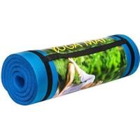 Cosfer 15 Mm-Mavi Silikon Yumuşak Yoga&Pilates Matı