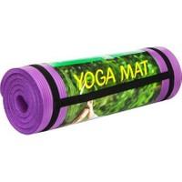 Cosfer 15 Mm-Mor Silikon Yumuşak Yoga&Pilates Matı