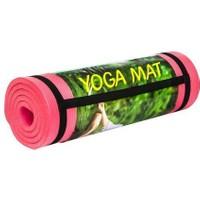Cosfer 15 Mm-Pembe Silikon Yumuşak Yoga&Pilates Matı