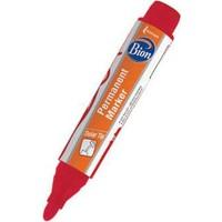 Bion Permanent Marker Yuvarlak Uç Kırmızı Kalem