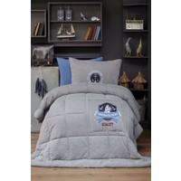 Karaca Home Comfort Set Tek Kişilik Penye Anchor Gri