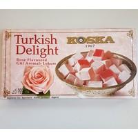 Koska Gül Lokum Turkish Delight Rose Flavoured