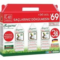 Zigavus Extra Plus Sarımsaklı Şampuan 250 Ml 3 Al 2 Öde Kofre Paket
