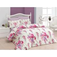 Belenay Tek Kişilik Uyku Seti - Floral Fuşya
