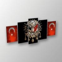 Printix Tuğra Dekoratif MDF Tablo