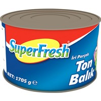 SuperFresh Ton Balığı Ayçiçek Yağlı 1705 gr