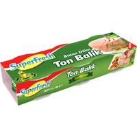SuperFresh Ton Balığı Zeytinyağlı 80 gr x 3 Adet