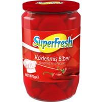 SuperFresh Közlenmiş Biber 670 gr