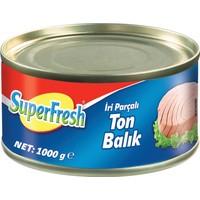 SuperFresh Ton Balığı Ayçiçek Yağlı 1000 gr