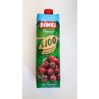 Dimes 1 Lt 100 Meyve Suyu Uzum-Visne