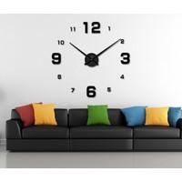 Dıy Clock Yeni Nesil 3D Duvar Saati Model 19