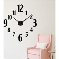 Dıy Clock Yeni Nesil 3D Duvar Saati Model 20