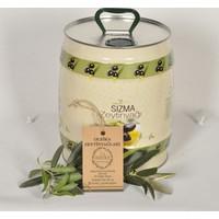 Oleika Soğuk Sıkım 0.2 Asit Özel Hasat Doğal Sızma Zeytinyağı 3 litre Fıçı – (Yeni Hasat) Mudanya