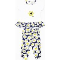 Babyz Papatya Nakışlı Kız Bebek Takımı