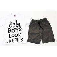 Kumru Kids Cool Boys Erkek Çocuk Takımı Beyaz