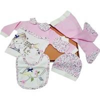 Karyel Bebe 5'li Kız Bebek Hastane Çıkışı Yenidoğan Zıbın Set Nk5-9151-P