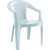 Gardelia Lux 4 Adet Plastik Koltuk Sandalye Takımı 1.Sınıf Beyaz