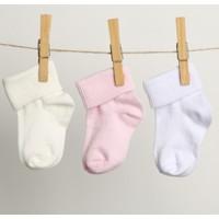 Hello Baby Hello Baby&Kids 3'lü Kıvrık Çorap