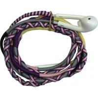 L-Tech . İp Örgü Desenli Kulaklık İos - Yu8Pop