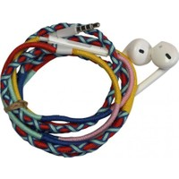 L-Tech . İp Örgü Desenli Kulaklık İos - Yu8Bb6