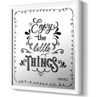The Mia Dekoratif Ayna Things 68 * 68 Cm - Siyah